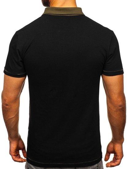 Černá pánská polokošile Bolf 2058