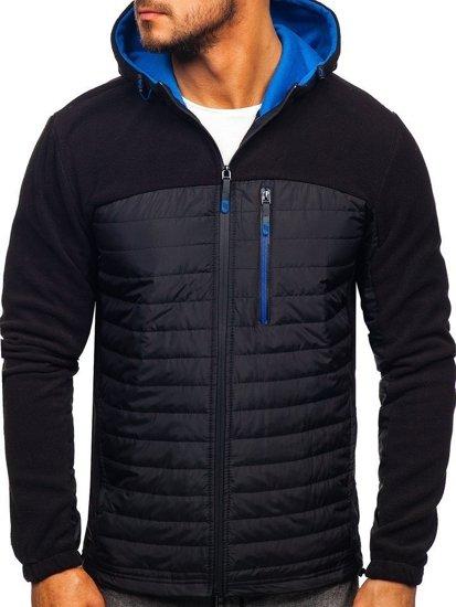 Černá pánská přechodová bunda Bolf YL010
