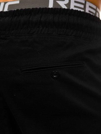 Černé pánské baggy kalhoty Bolf 0399