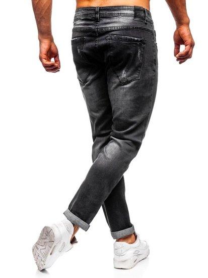 Černé pánské džíny slim fit Bolf KX312