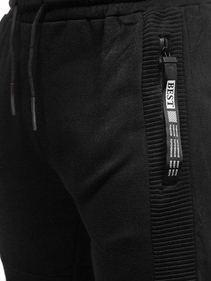 Černé pánské tepláky Bolf JX8967-2