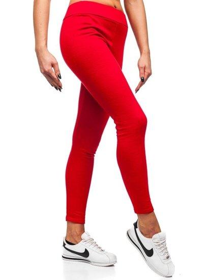 Červené dámské legíny Bolf YW002
