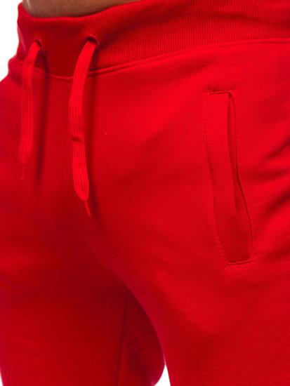 Červené pánské tepláky Bolf XW01-A