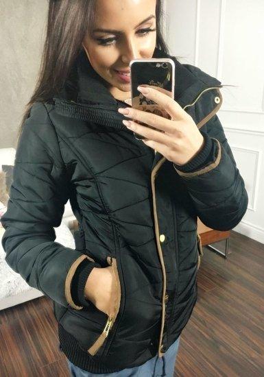 Dámská černá zimní bunda Bolf 22
