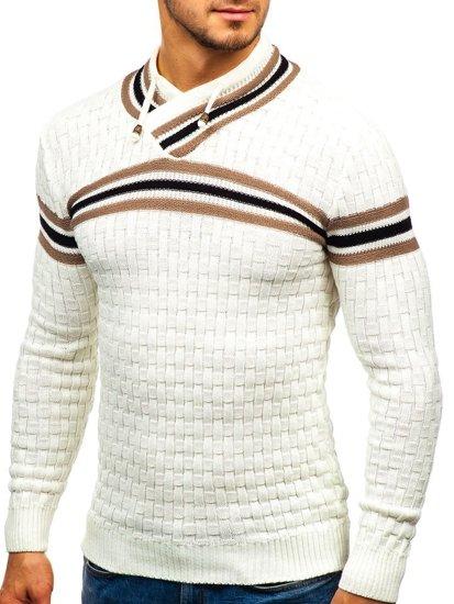 Ecru pánský svetr Bolf 6006
