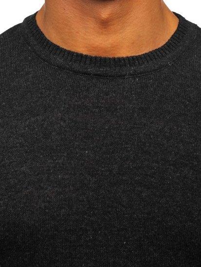 Grafitový pánský svetr Bolf 0002