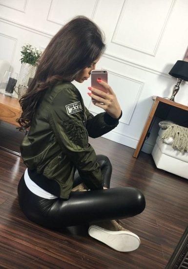 Khaki dámská přechodná bunda Bolf 5611
