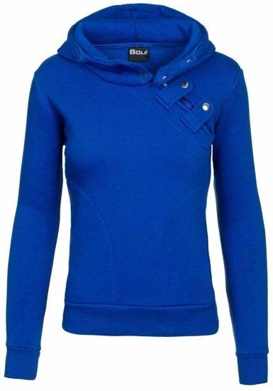 Královsky modrá dámská mikina Bolf 15S
