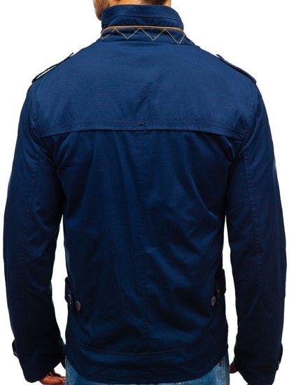 Modrá pánská přechodová bunda Bolf 005