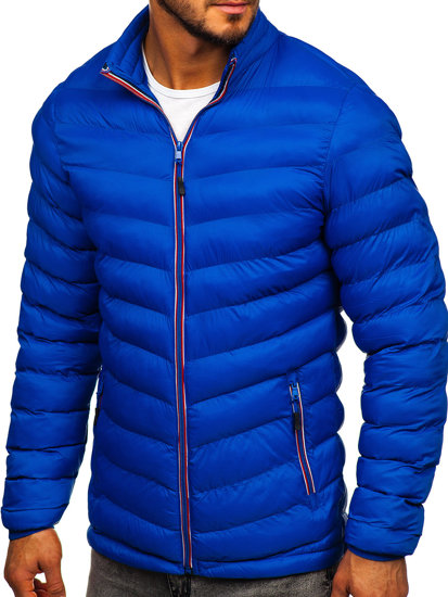 Modrá pánská sportovní zimní bunda Bolf SM71