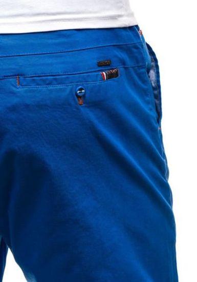 Modré pánské kraťasy Bolf 202