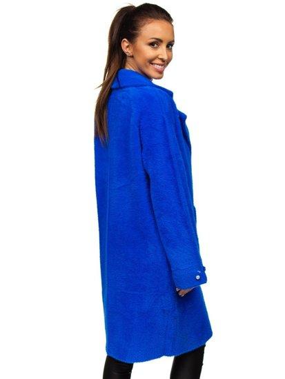 Modrý dámský kabát Bolf 20737