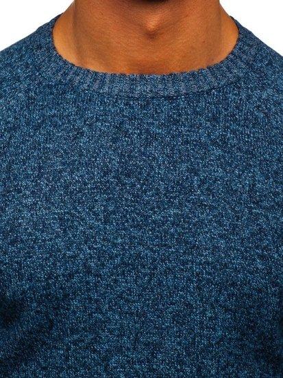 Modrý pánský svetr Bolf H1929