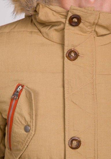 Pánská khaki zimní bunda Bolf 7577