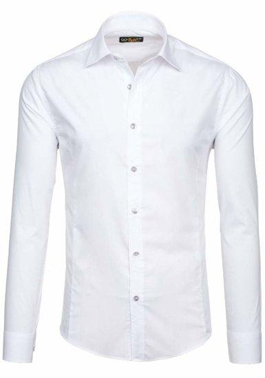 Pánská košile BOLF 1703-2 bílá