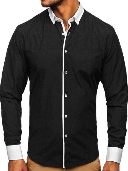 Pánská košile BOLF 2782 černá