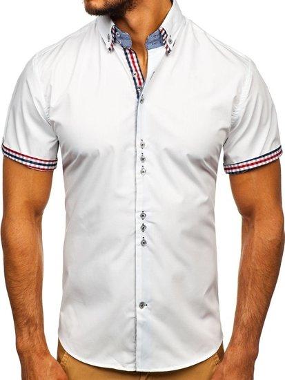 Pánská košile BOLF 3507 bílá