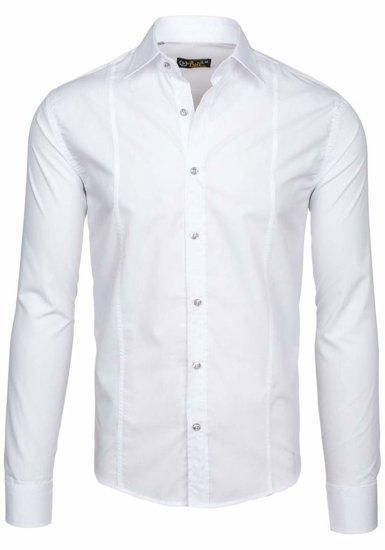 Pánská košile BOLF 4705-G bílá