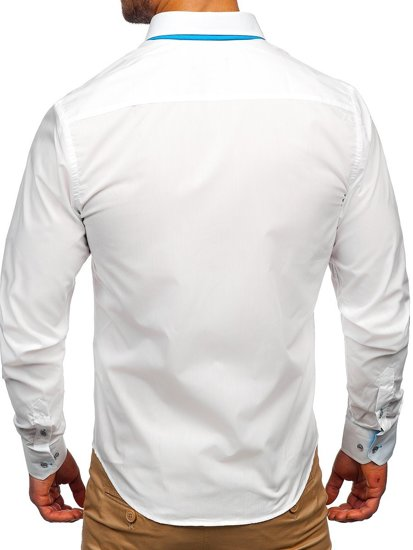 Pánská košile BOLF 4744 bílá