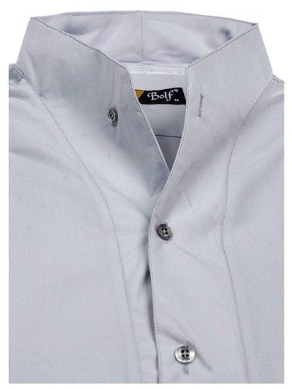 Pánská košile BOLF 5702 šedá