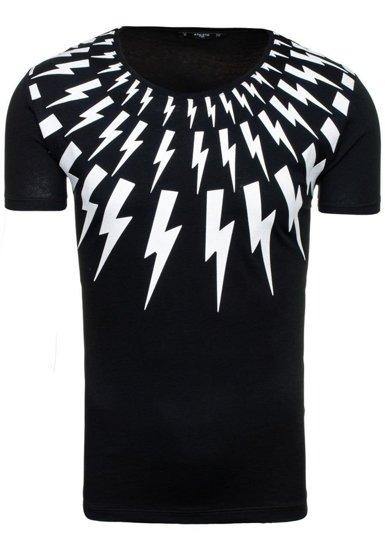 Pánské tričko ATHLETIC 9042 černé