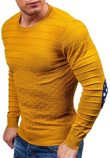 Pánský hořcicový svetr Bolf 2028