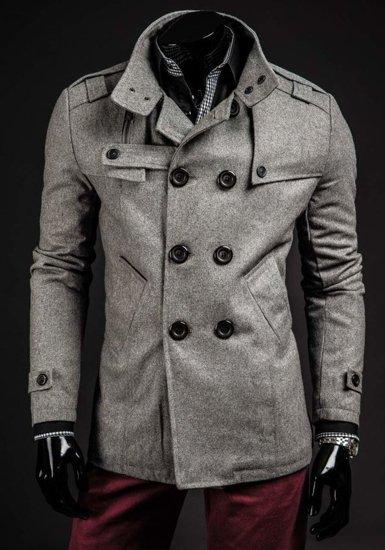 Pánský kabát GANEDER 1903 šedý