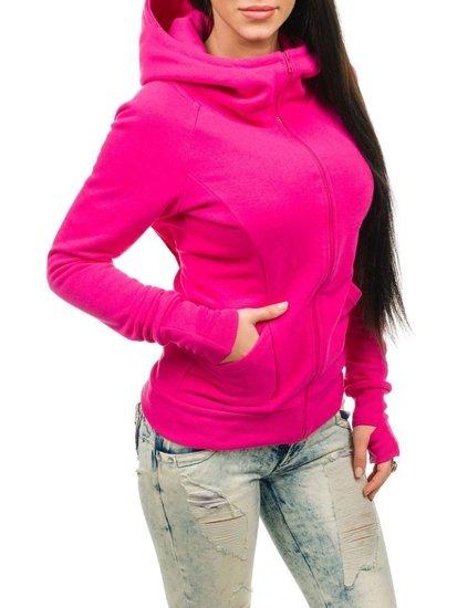 Růžová dámská mikina Bolf 17S