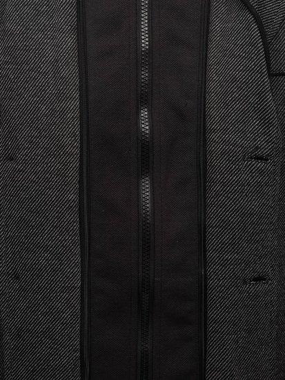 Šedý pánský kabát Bolf 1978