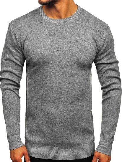 Šedý pánský svetr Bolf 8364