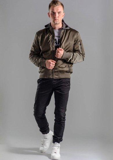 Stylizace č. 48 - bunda, tričko s dlouhým rukávem, jogger kalhoty