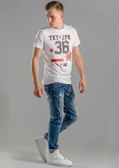 Stylizace č. 58 - tričko, džíny
