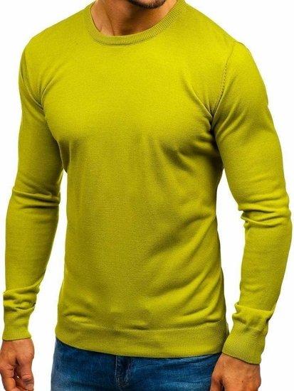 Světle zelený pánský svetr Bolf 2300