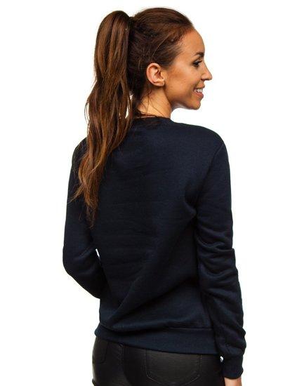 Tmavě modrá dámská mikina Bolf W01