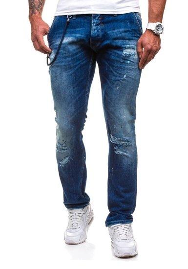 Tmavě modré pánské džíny Bolf 4730 (1000)