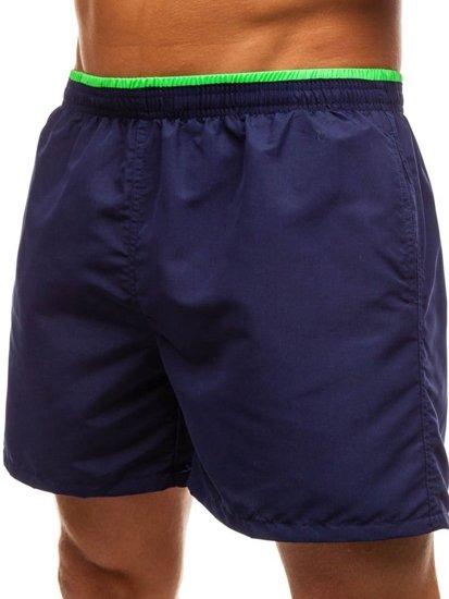 Tmavě modré pánské koupací šortky Bolf Y768