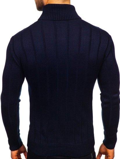 Tmavě modrý pánský rolák Bolf 5021