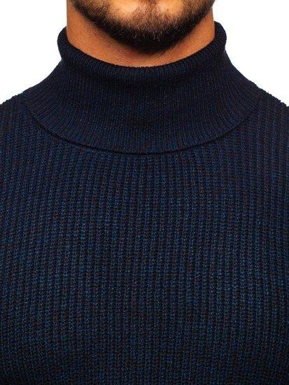 Tmavě modrý pánský rolák Bolf H1927