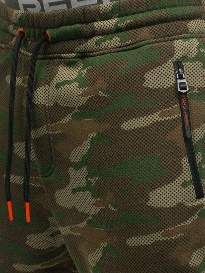 Vícebarevné pánské maskáčové tepláky Bolf 3771B