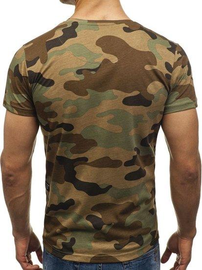 Vícebarevné pánské tričko s potiskem Bolf 2102E