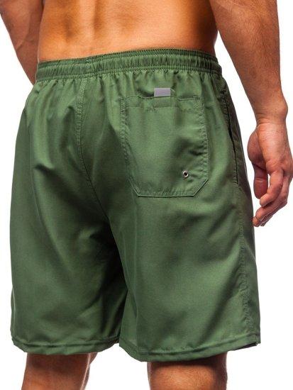 Zelené pánské plavecké šortky Bolf ST003
