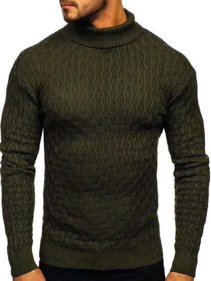 Zelený pánský rolák Bolf 501