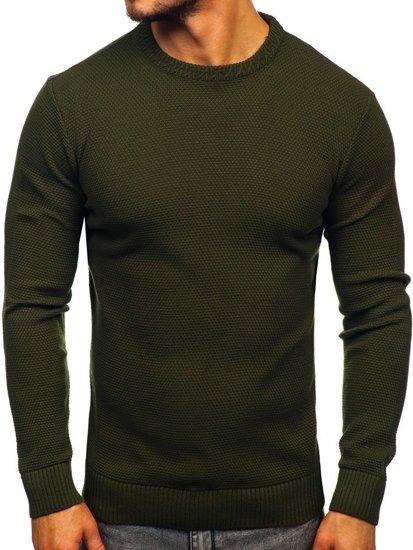 Zelený pánský svetr Bolf 312