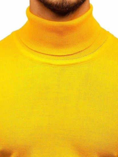 Žlutý pánský rolák Bolf 2400