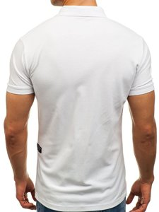 Bílá pánská polokošile Bolf 2056