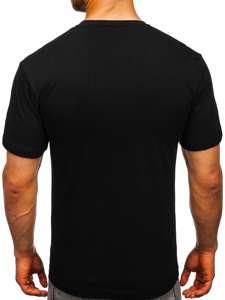 Bílé pánské tričko s potiskem Bolf 10821