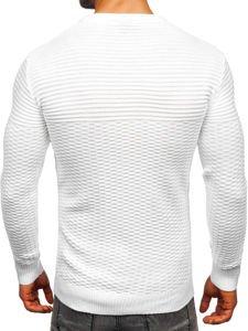 Bílý pánský svetr Bolf 319