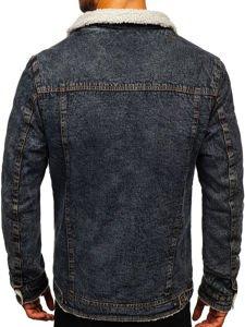 Černá pánská džínová bunda Bolf 1109