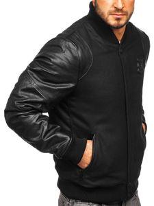 Černá pánská přechodová bunda Bolf 3324