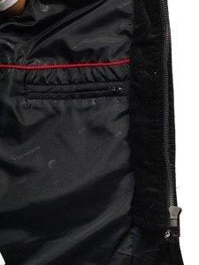 Černá pánská přechodová bunda Bolf 50004